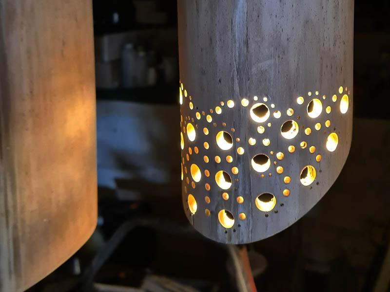 Custom Bamboo Lights