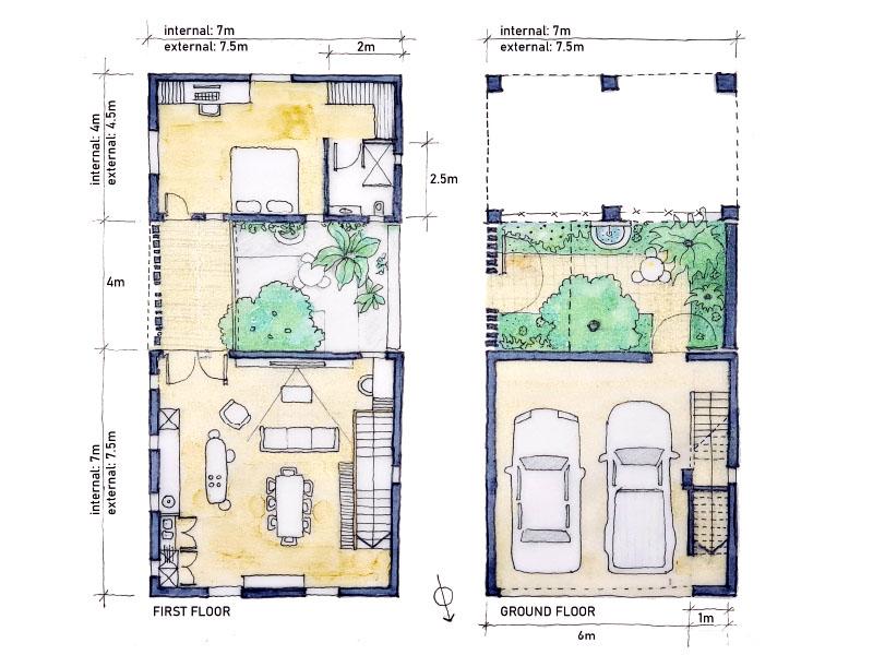 House Malan Sketch Plan